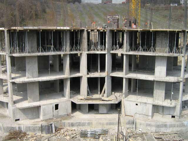Монолитно каркасное строительство